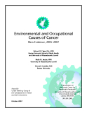 Environmental and Occupational  Causes of Cancer