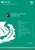 Management	of oesophageal and gastric cancer