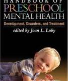HANDBOOK OF PRESCHOOL MENTAL HEALTH Development, Disorders, and Treatment