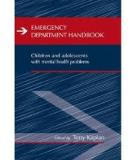 Emergency Department Handbook Children and adolescents with mental health problems
