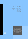 Mental Health Policy and Service Guidance Package: ADVOCACY FOR MENTAL HEALTH