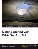 Getting Started with Citrix XenApp 6.5