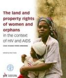 Land, Trees, And Women -  Evolution Of Land Tenure Institutions In Western Ghana And Sumatra