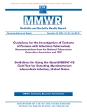 Guidelines for the Investigation of Contacts of Persons with Infectious Tuberculosis Recommendations from the National Tuberculosis Controllers Association and CDC