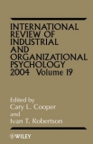 International Review of Industrial and Organizational Psychology 2004 Volume 19