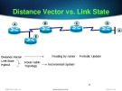 Distance Vector vs. Link State