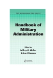Handbook of Military Administration
