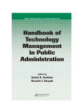 Handbook of Technology Management in Public Administration
