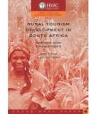 Book Rural Tourism Development in South Africa
