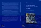 Access to Finance and Economic Growth in Egypt: A Study Led By  SAHAR NASR