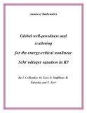 "Đề tài "" Global well-posedness and scattering for the energy-critical nonlinear Schr¨odinger equation in R3 """