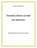 "Đề tài "" Toward a theory of rank one attractors """