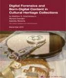 Digital forensics and born-digital content in cultural heritage collections