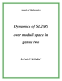 "Đề tài ""  Dynamics of SL2(R) over moduli space in genus two """
