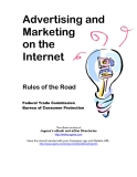 Advertising and Marketing on the Internet Rules of the road