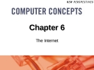 Chapter 6: The Internet