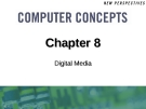 Chapter 8: Digital Media