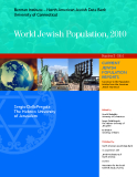 World Jewish Population, 2010: Sergio DellaPergola The Hebrew University   of Jerusalem