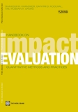Handbook on Impact  Evaluation - Quantitative Methods and Practices