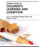 CURRENT TOPICS IN CHILDREN'S LEARNING AND COGNITION