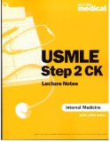 Medical USMLE Step 2 CK Lecture Notes: Internal Medicine