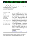 Báo cáo khoa học: Homologous desensitization of guanylyl cyclase A, the receptor for atrial natriuretic peptide, is associated with a complex phosphorylation pattern