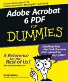File Adobe Acrobat 6 PDF For Dummies