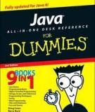 Java All-In-One Desk Reference for Dummies bydoug loweandbarry burd