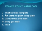 Powerpoint nâng cao