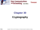 Chapter 30 Cryptography