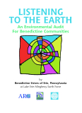 Listening to the Earth -  An Environmental Audit for Benedictine Communities