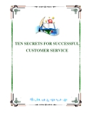 TEN SECRETS FOR SUCCESSFUL CUSTOMER SERVICE