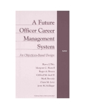 A Future Officer Career Management System - An Objectives-Based Design