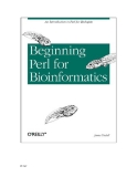 .Beginning Perl for Bioinformatics