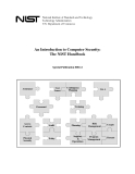 Computer Security: The NIST Handbook