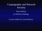 Cryptography & Network Security