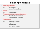 Data Structures and Algorithms - Chapter 3 -Stack Applications