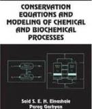 CONSERVATION EQUATIONS AND MODELING OF CHEMICAL AND BIOCHEMICAL PROCESSES