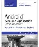 Android Wireless Application Development Third Edition