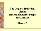 The Logic of Individual Choice:The Foundation of Supply and Demand