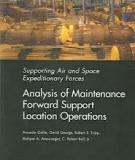 Supporting Air and Space Expeditionary Forces - Analysis of Maintenance Forward Support Location Operations