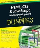 HTML, CSS & JavaScript® Mobile Development FOR DUMmIES
