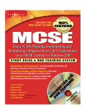 Exam 70-296 : Planning, Implementing and Maintaining a Windows Severs 2003 Enviroment For An MCSE Certifield On Windows 2000