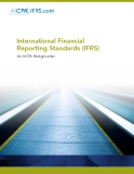 International Financial Reporting Standards (IFRS): An AICPA Backgrounder