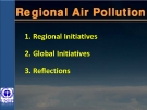 Regional Air Pollution