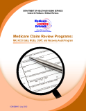Medicare Claim Review Programs: MR, NCCI Edits, MUEs, CERT, and Recovery Audit Program