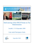 SIXTH MEETING OF THE OECD FORUM ON TAX ADMINISTRATION