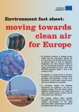 Environment fact sheet: moving towards clean air  for Europe