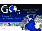 Global Ozone ProjectCurriculum Lesson 1: Air Pollution Basics