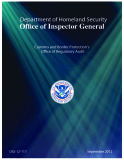 Customs and Border Protection's Oice of Regulatory Audit